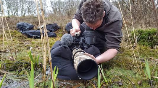'Overal zit een verhaal in', zegt Harrewijn, die mensen via zijn werk in aanraking met de natuur wil brengen.