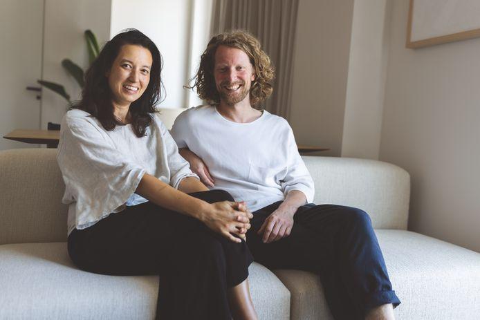 Ondernemers Daphne Kniest (l.) en Wouter Kock.