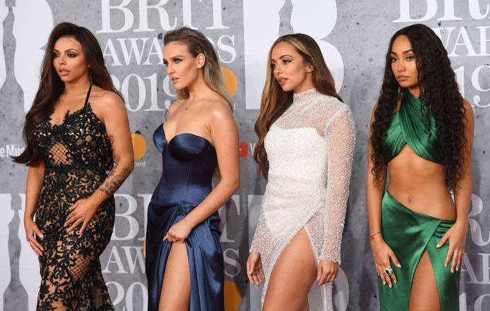De Britse meidengroep Little Mix. Van links naar rechts: Jesy, Perrie, Jade en Leigh-Anne.