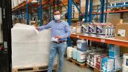 Izegemse groothandel deelt tienduizend mondmaskers uit aan lokale verenigingen