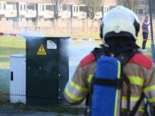 140 huizen in Woerden hele avond zonder stroom door brand in verdeelkast