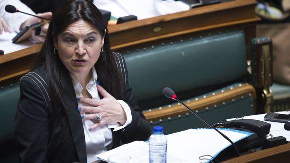 Minister van Energie Marie-Christine Marghem