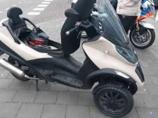Flinke dot gas op splinternieuwe scooter zonder rijbewijs: eerste rit is meteen laatste rit