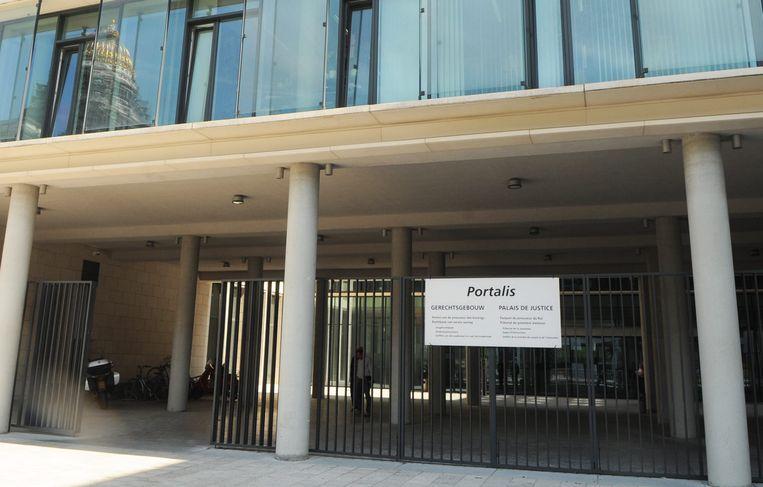 De harde schijf met de autopsierapporten verdween vorige week uit het gebouw van het Brusselse parket. Beeld BELGA