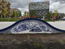 Dordtse kunst op grootste skatepark van Nederland