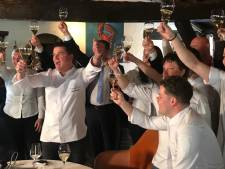 Historische dag voor De Kromme Dissel: het restaurant behoudt Michelinster voor vijftigste jaar op rij