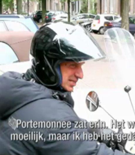 Willem Holleeder brengt gevonden tasje naar bureau