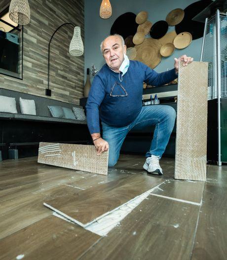 Georgios heeft huurschuld van 112.000 euro, maar het pand dat hij huurt is al jaren zo lek als een mandje