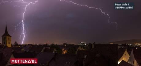 25.000 éclairs enregistrés en Suisse