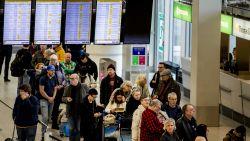 Westerstorm teistert ook Nederland: treinen rijden niet meer, vluchten op Schiphol  geschrapt