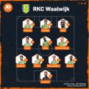 De vermoedelijke opstelling van RKC.