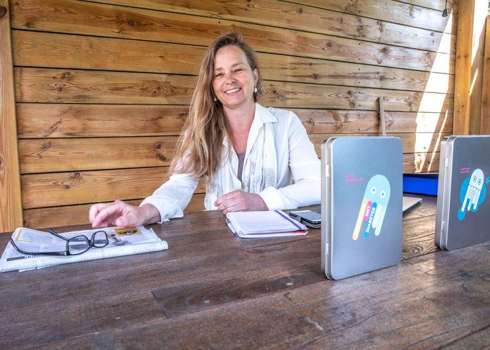 Zwolle Lydia Braakman in haar strijd tegen diabetes in het onderwijs FotoPersBuro Frans Paalman Zwolle ©2018