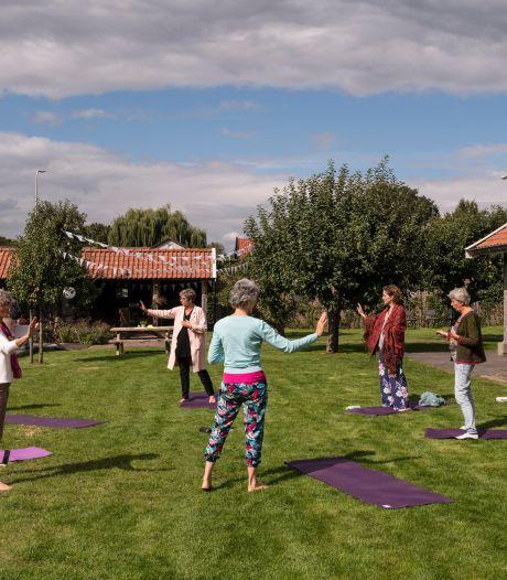 Fête de la nature in Reutum: even weg uit de hectiek met klankschalen, yoga en meditatie