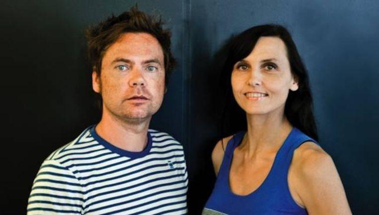 Geoffrey Hantson en Katrien Bottez, tot gisteren het creatieve duo achter Duval Guillaume Beeld RV