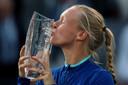 11 mei 2019: Kiki Bertens wint het hoog aangeschreven toernooi van Madrid.