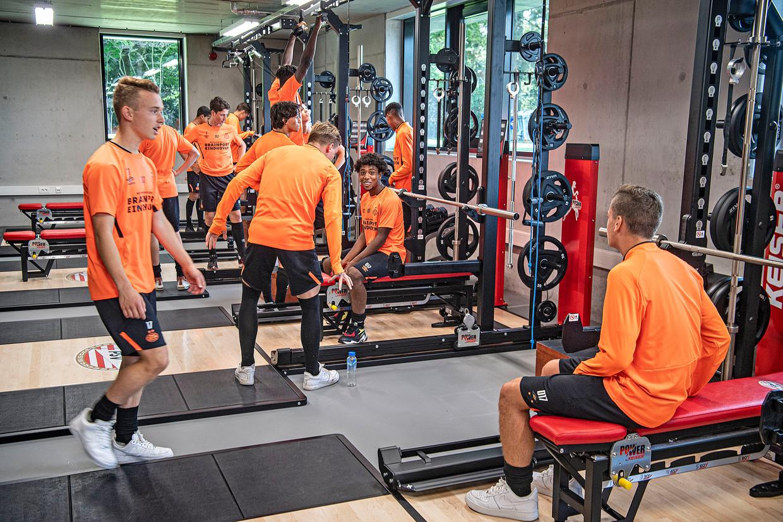 Het nieuwe krachthonk op de PSV Academy.