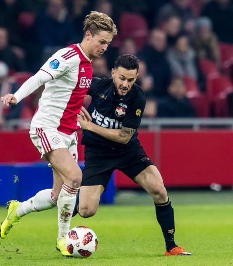 Willem II blijft grote nederlaag bespaard bij Ajax