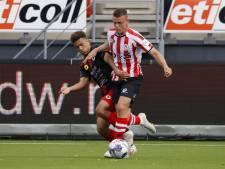 Sparta-aanvaller Vito van Crooij hoopt vanavond tegen PEC Zwolle zijn eerste goal mee te pikken