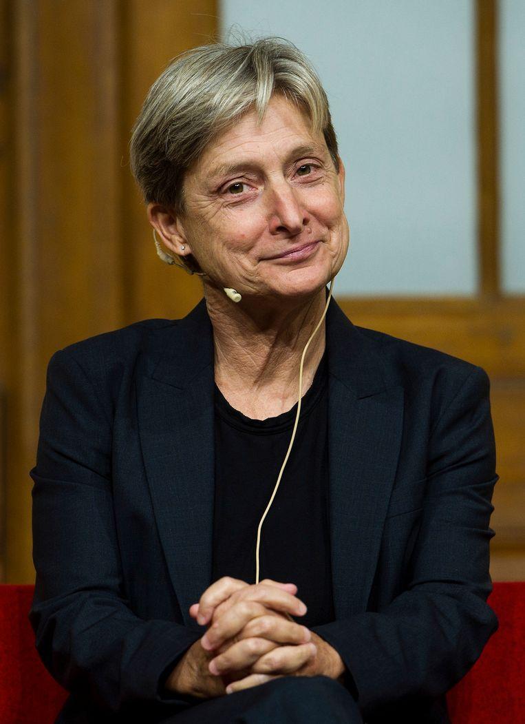 Judith  Butler Beeld Getty Images