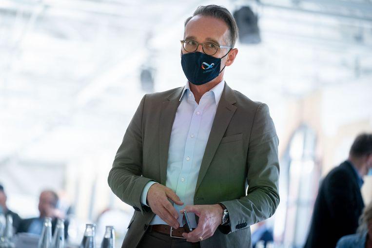 De Duitse minister van Buitenlandse Zaken Heiko Maas. Beeld Kay Nietfeld/DPA