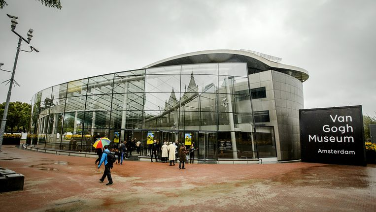 De ingang van het Van Gogh Museum Beeld anp