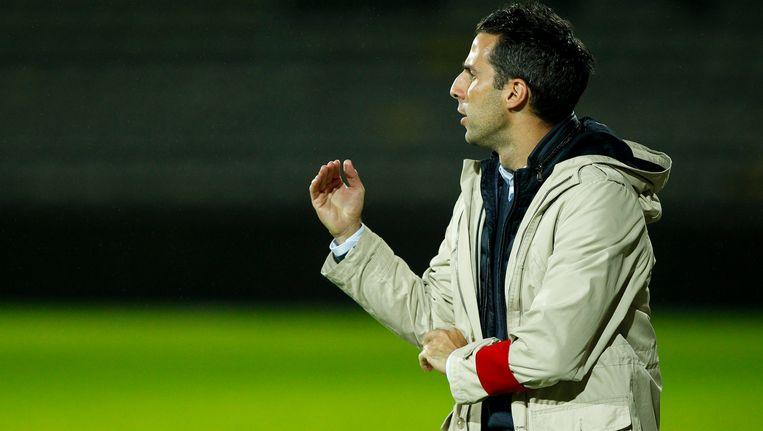 Trainer van STVV, Yannick Ferrera