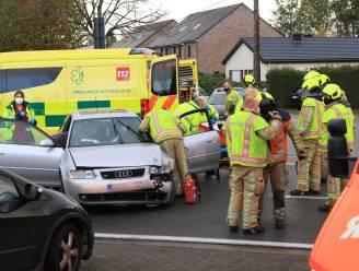 Bestuurster gewond bij ongeval op Schrijberg