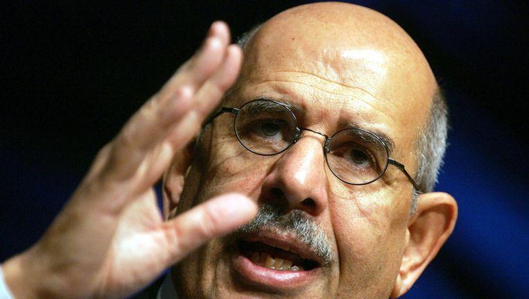 Oppositieboegbeeld Mohmmed ElBaradei. Beeld GETTY