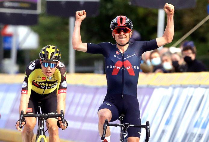 Tom Pidcock won woensdag de Brabantse Pijl.