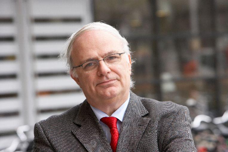 Criminoloog Cyrille Fijnaut, verbonden aan de universiteiten van Tilburg en Leuven: 'Er is geen enkel bewijs van corruptie, noch in Nederland, noch in België.' Beeld RV