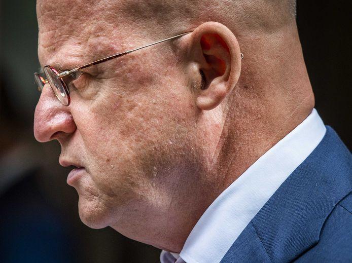 Justitieminister Ferd Grapperhaus schoof afgelopen week nog aan bij de ministerraad. Of hij komende vrijdag ook nog van de partij is, zal moeten blijken.