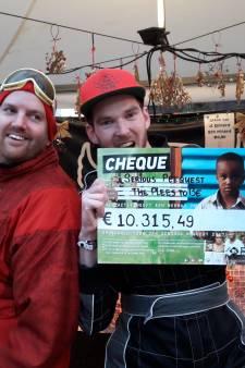 Gezeik tijdens Serious Request levert ruim 10.000 euro op