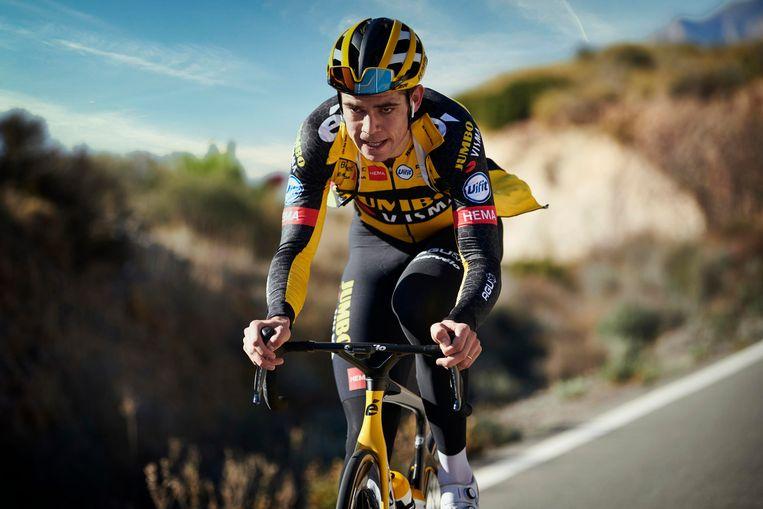 Wout van Aert bereidt in het Spaanse Alicante het WK cyclocross en het klassieke voorjaar voor. Beeld Photo News