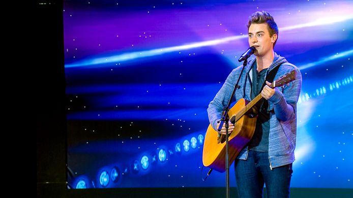 Wayne Matthews waagt vrijdag zijn kans in Belgium's Got Talent.