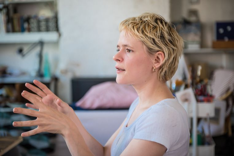 Charline Tyberghein: 'Ruimte om te experimenteren.' Beeld joost joossen - charline tyberghein