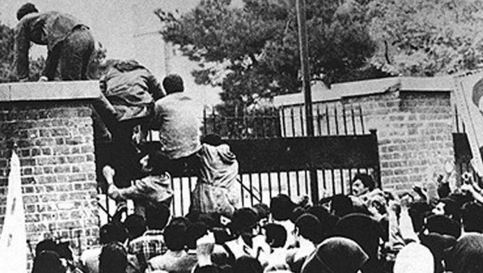 De bestorming van de Amerikaanse ambassade in 1979