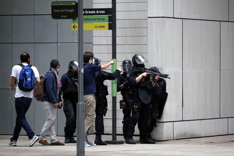De oproep had een grote politieoperatie op gang gebracht.