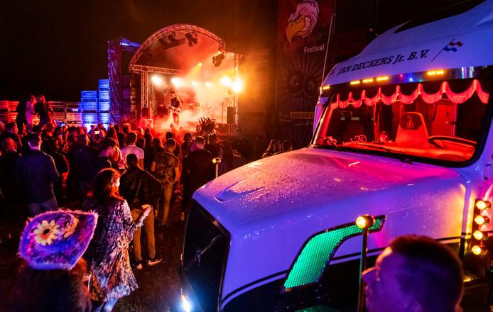 Eagle Eye Festival, muziek in een sfeervol decor.