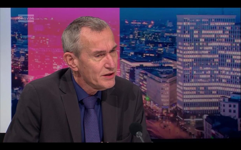Frank Vandenbroucke in 'De afspraak'. Beeld VRT