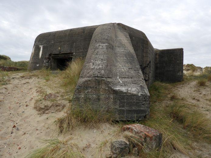 De vluchtelingen werden aangetroffen nabij het beschermd monument Waldersee in Oostduinkerke, een bunker of 'weerstandsnest' uit de Tweede Wereldoorlog.