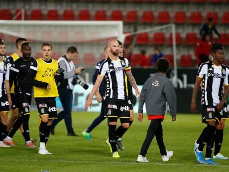 Première défaite pour Charleroi