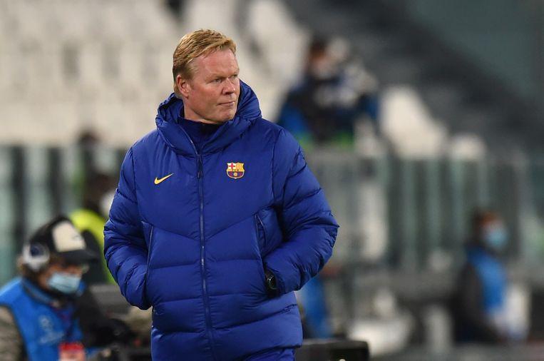 Trainer Ronald Koeman. Beeld UEFA via Getty Images
