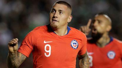 FT buitenland 17/10. Nicolas Castillo (ex-Club) bezorgt Chili zege in Mexico - Italië oefent tegen VS in Genk - Bolt niet naar Malta