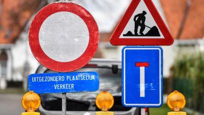 Deel Brusselsestraat afgesloten voor werken aan begijnhof