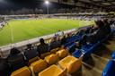 De teloorgang van RKC in beeld: weinig fans, geen doelpunten (0-0 tegen Helmond Sport in december 2014).