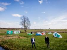 CDA-jongeren willen huizen voor starters in polder Rijnenburg en zo lieten ze dat zien
