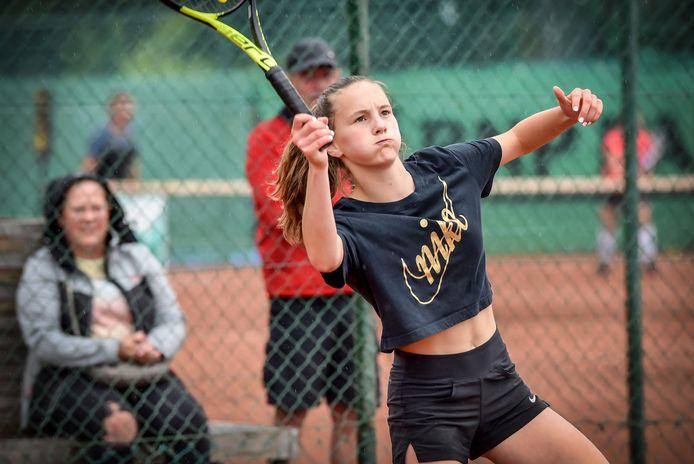 Britt Brebels (foto) speelt zaterdag op de Masters in halve finale tegen Fleur Kellens. Voor de winnares wacht in finale een hele uitdaging tegen Nanou Thys.