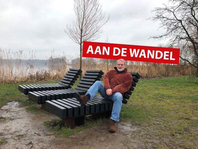 Ton van Ewijk van de Vereniging Vrienden van Park Zegersloot.