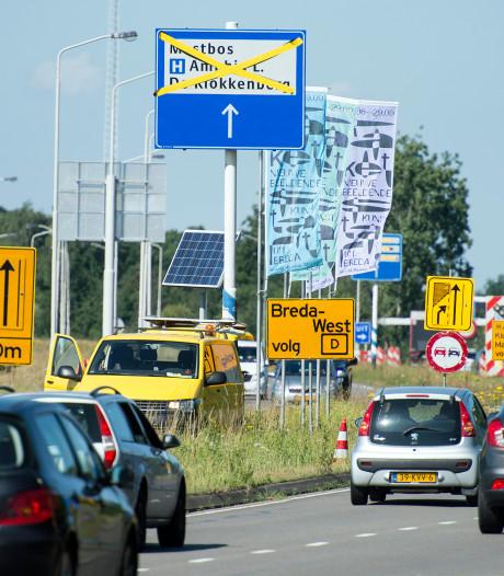 'Stadsontsluiter' zuidelijke rondweg in Breda op de schop tot 18 augustus
