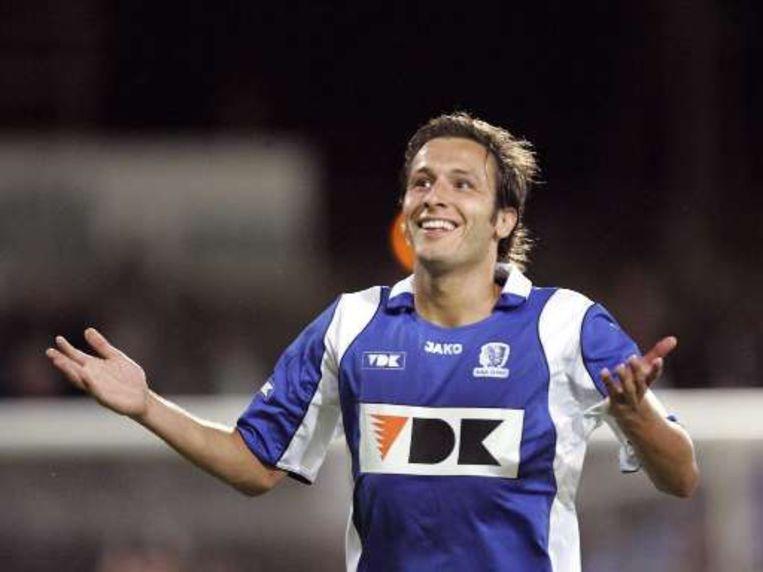 Grégoire, toen hij nog voor AA Gent speelde. Beeld UNKNOWN